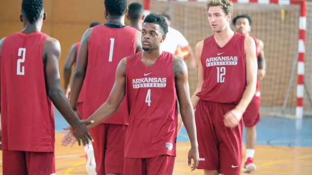 Europe Basketball Academy vs. Arkansas Razorbacks