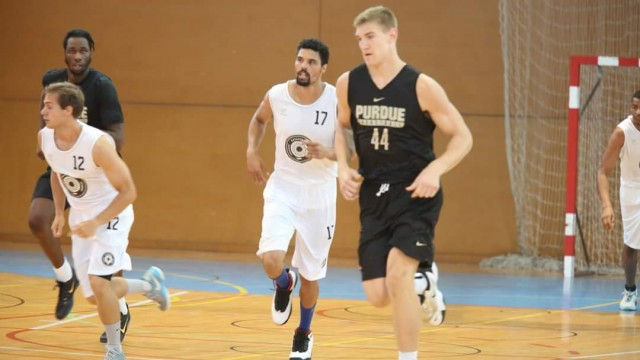 Europe Basketball Academy vs. Purdue NCAA division 1