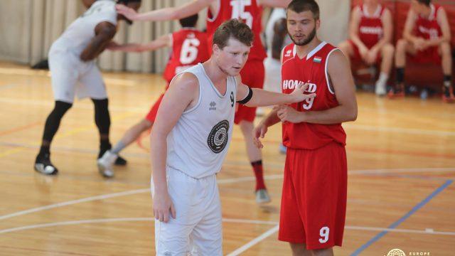 Europe Basketball Academy vs. Honved Hungary